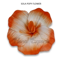 Sola Popy Flowers-Balsa Wood Flowers Bulk