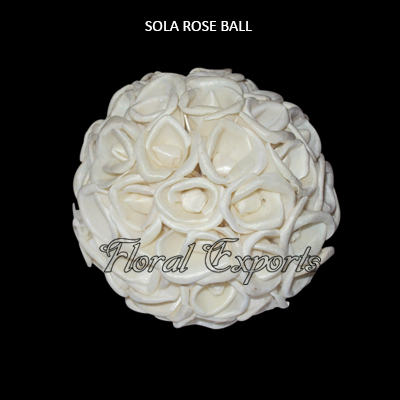 Sola Rose Balls-Sola Balls for Decorations