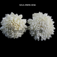 Sola Ziniya 4cm-Sola Flowers Bulk