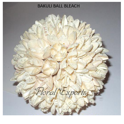 Bakuli Ball Bleach - Handmade Decorative Balls