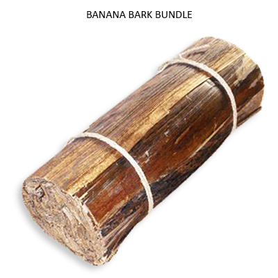 Banana Bark Bundle Natural