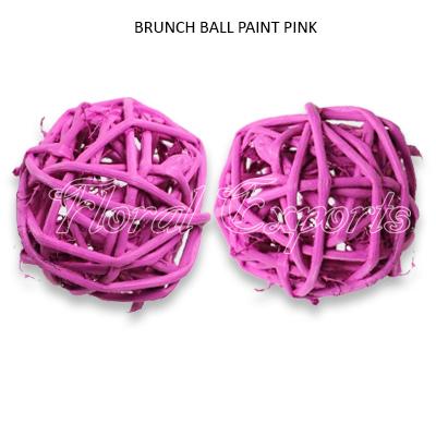 Lata Brunch Ball 6cm Paint Colour Loose - Branch Ball Wholesale