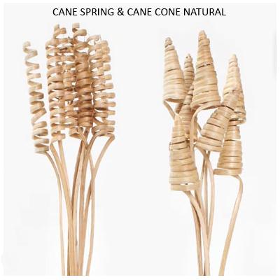 CANE SPRING & CANE CONE NATURAL