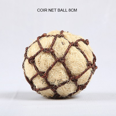 Coir Net Ball 8cm - Bulk Bowl Fillers Balls