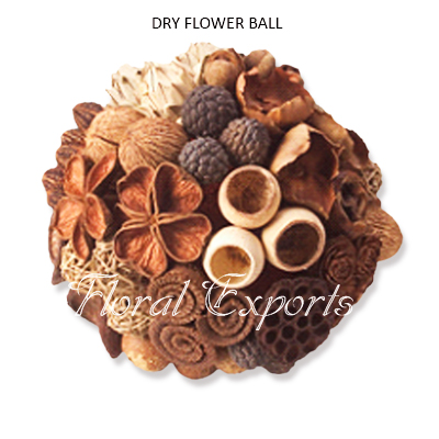 Mix Dry Flowers Ball - Mix Dried Flowers Balls Supplies