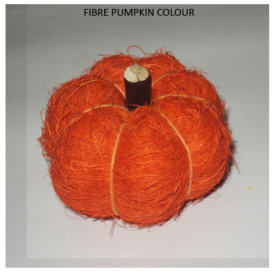 Fibre Pumpkins Color - Wholesale Decorative Pumpkins