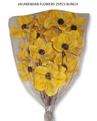 Jacaranda Flowers Yellow 25pcs Bunch