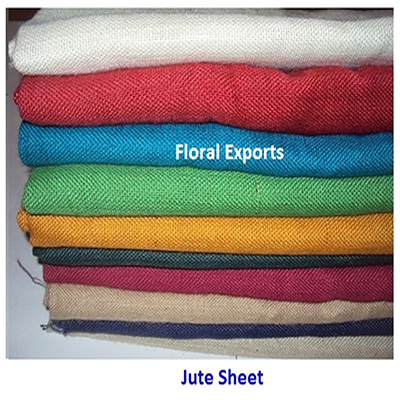 Jute Sheet Colored - Jute Fabric Suppliers, Jute Fabric Wholesalers