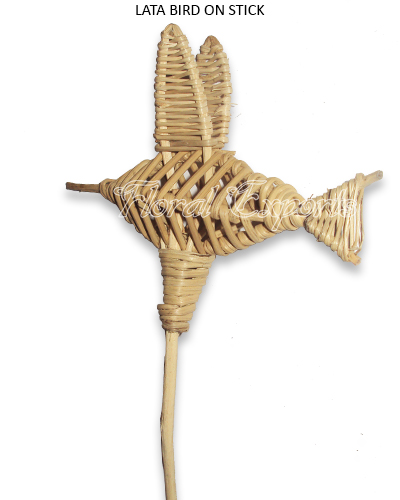 Lata Bird on Stem - Wholesale Floral Supplies