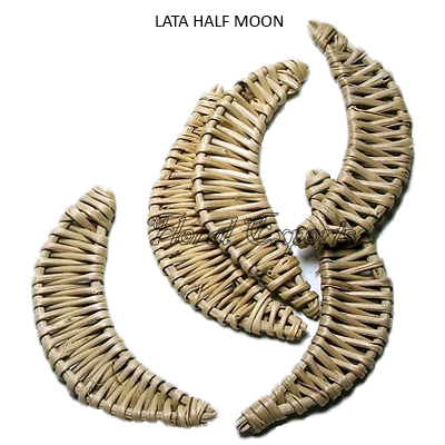 Lata Half Moon Loose - Bulk Handmade Deco Wholesale