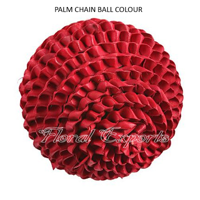 Palm Chain Ball Colour - Decorative Balls Manufacturer India