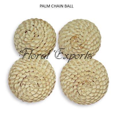 Palm Chain Ball - Decorative Ball Wholesaler