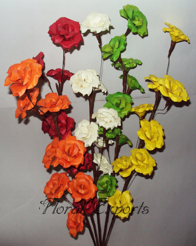 Palm Rose Tree - Decorative Flower Branch Wholesale