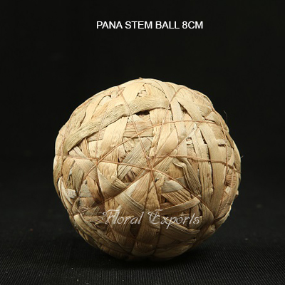 Pana Stem Ball 8cm - Bulk Dried Balls