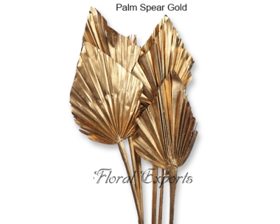 Palm Spear Gold - Christmas Ornaments