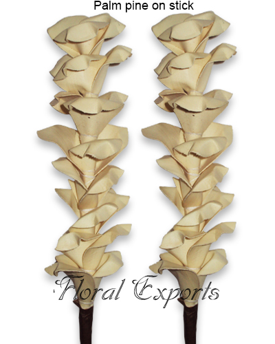 Palm Pine on Stick - Wholesale Deco Sticks of Decoration