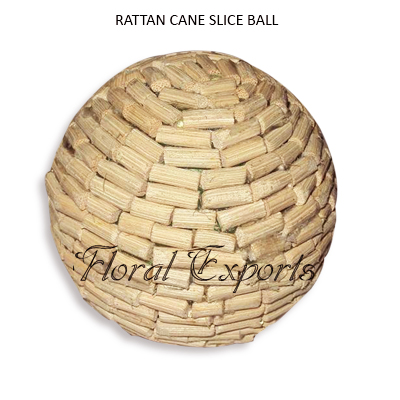 Rattan Cane Slice Ball - Decorative Bowl Fillers Balls Wholesale