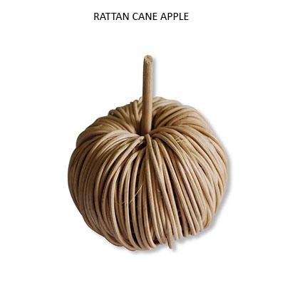 Rattan Cane Apple - Wholesale Handmade Decorative Items