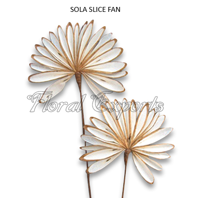 Sola Slice Fan on Stick - Sola Deco Stick Wholesale