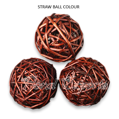 Straw Ball Colour - Wholesale Decorative Vase Fillers