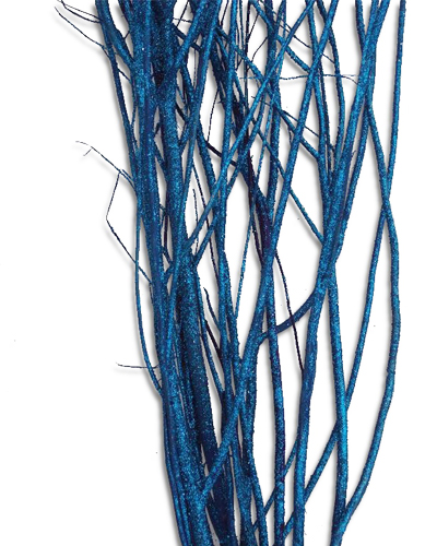 Twigs Blue Wash 9cm Decorative Twigs Branches