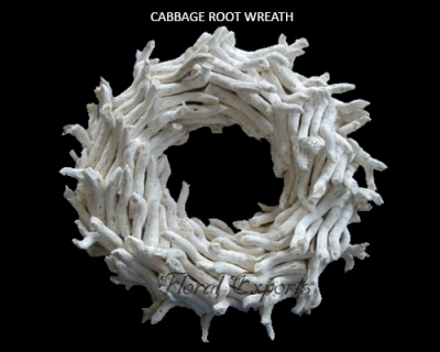 Cabbage Root Wreath - Wholesale Wreath Manufacturer
