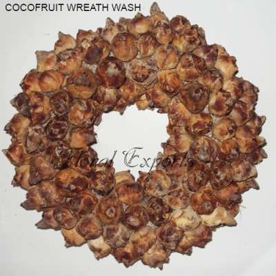 Coco Fruit Wreath Wash - Christmas Wreath Decorations
