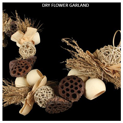 Dried Flowers Garland - Dried Flowers Garland Wholesale