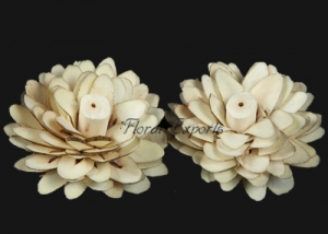 Sola Log Flowers 8cm Natural