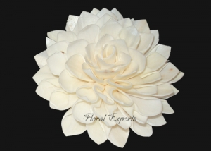 Sola Dahlia 10cm Natural - Bulk Sola Flowers Suppliers