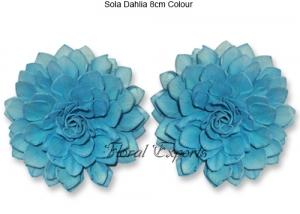 Sola Dahlia 8cm Colour - Bulk Sola Eco Flowers Wholesale Supplies