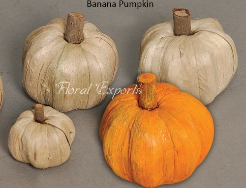 Banana Pumpkin – Handmade Flowers