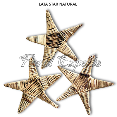 LATA STAR NATURAL - Natural Bird Toys Manufacturer