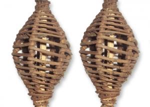 Lata Lanton with Skin Head- Natural Bird Toys