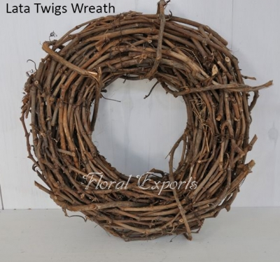 Lata Twigs Wreath - Cockatiel Bird Toys Parts