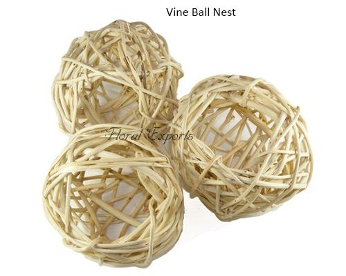 Vine Ball Nest - Munch Nest Bird Toy